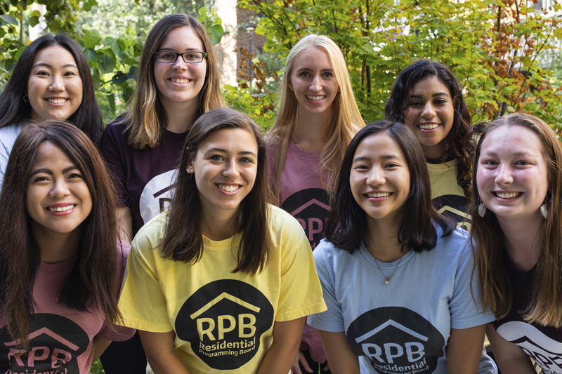 Residential Programming Board for 2019-20