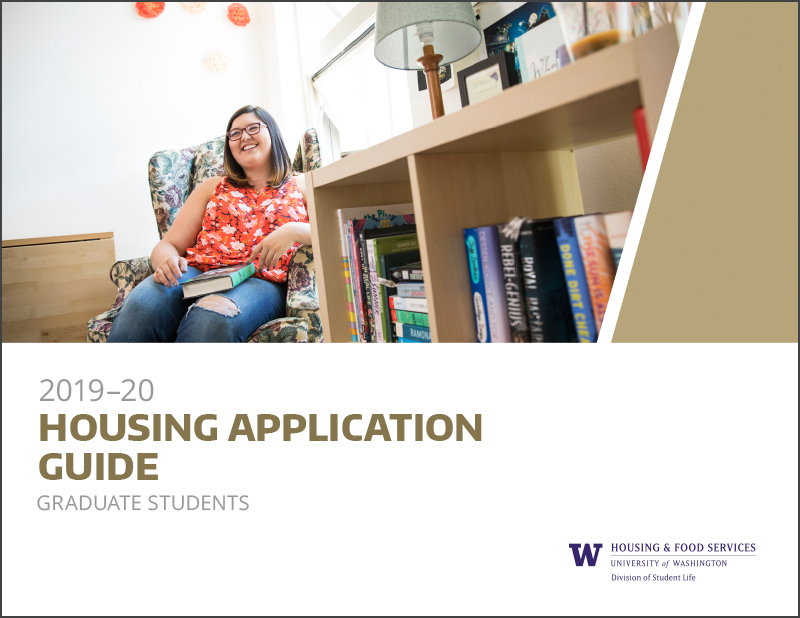 Graduate student housing application guide