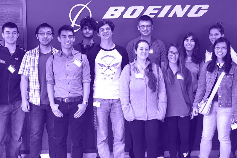 An LLC on a field trip to Boeing