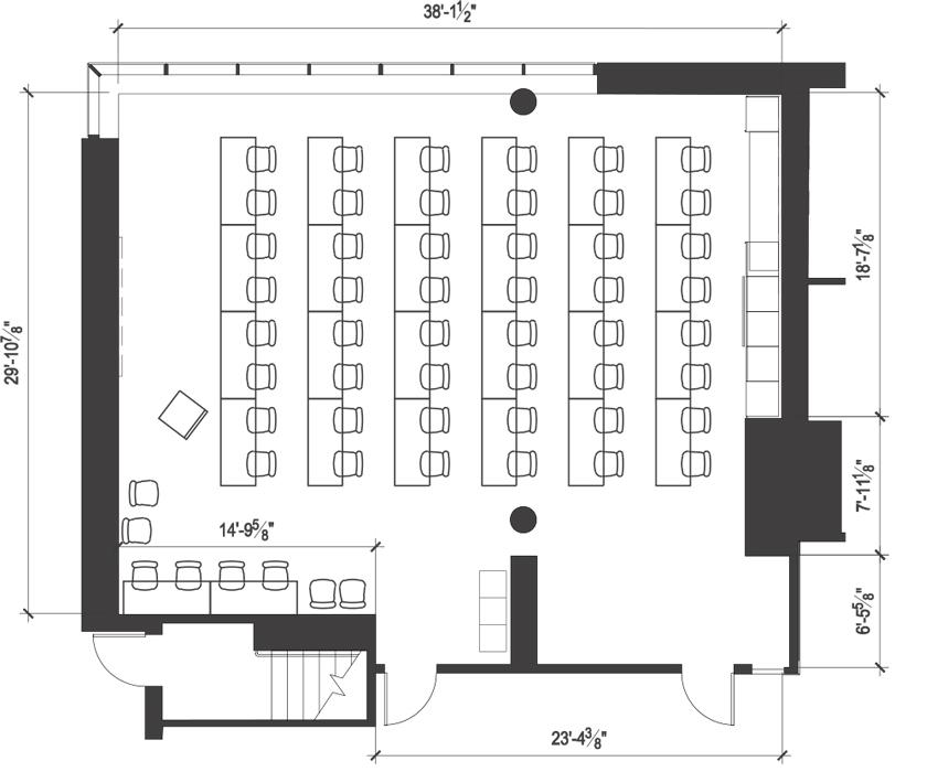 Alder Hall 107 Uw Hfs